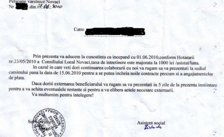 Protecţie socială à la Todea: s-a mărit taxa de lagăr!