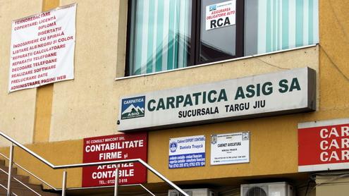 Carpatica Asig S.A. Târgu-Jiu emite poliţe de înşelăciune