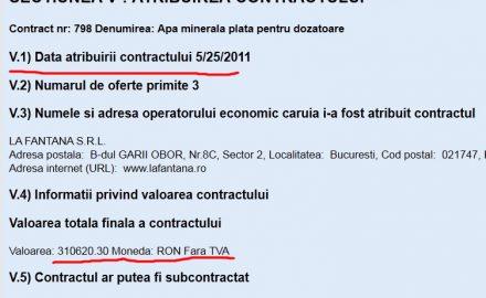 Apă plată de 7 miliarde, bani publici, pentru şefii de la Complexul Turceni