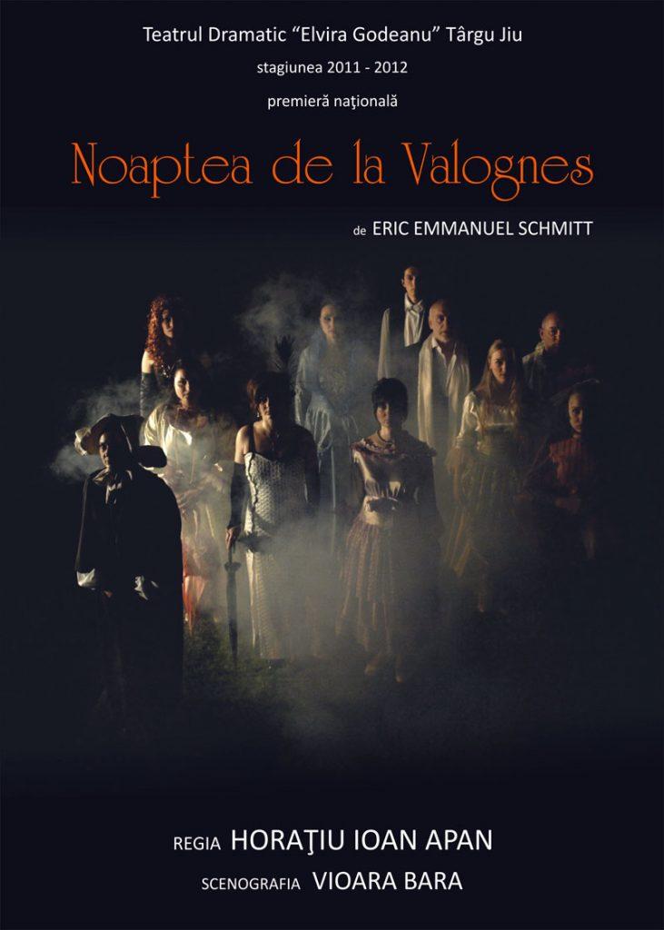 Întâia noapte de la Valognes…