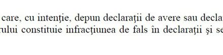 Țepara Teodora Ciobanu, fals în declarația de avere!