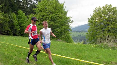 Gorjenii aleargă pe munte la Balcaniadă