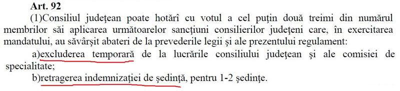 Călinoiu a făcut pierdute rapoartele de activitate ale fostului consilier județean Iulia Vână