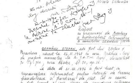 """""""După 1990, verdictul SRI a fost clar: continuaţi supravegherea informativă!"""""""