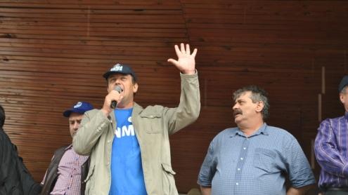 Mii de mineri au cerut demisia lui Ciurel. Protestul de mâine, anulat