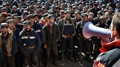 Cinci mii de mineri gorjeni vor protesta la București