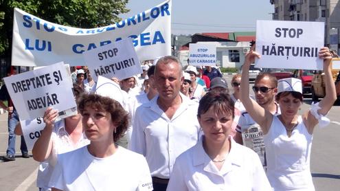 mihai ramescu protest