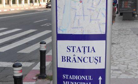 Brâncuși a ajuns stație de troleu, iar Tudor Vladimirescu – nume de stadion!