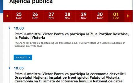 Ponta nu și-a anunțat oficial prezența la Târgu Jiu, de Ziua Națională