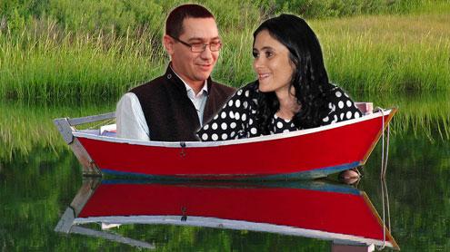 Vână și Ponta într-o barcă, Călinoiu dus cu pluta