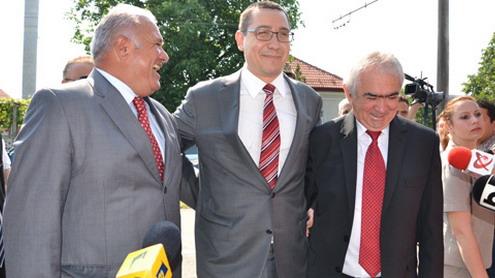 Ponta i-a ținut la ușă pe Călinoiu și Cârciumaru
