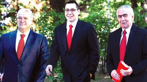 Ponta nu scapă nici la mânăstire de dinozaurii din PSD Gorj