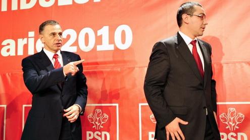 Video: Ponta, înjurat de Geoană, Vanghelie și Oprea