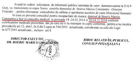 Mai NESIMȚIT decât prevede legea: Marius Boeriu
