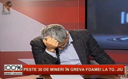 Video: Șocat de mafia din Gorj, Turcescu a vrut să plece din propria emisiune!
