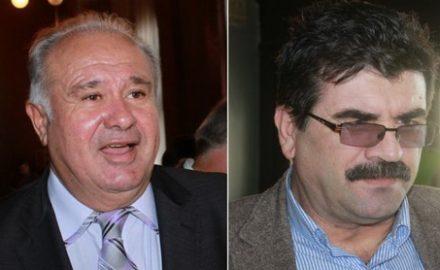 Foto: Penalii Călinoiu și Ciurel, întâlnire de taină, la ceas de seară