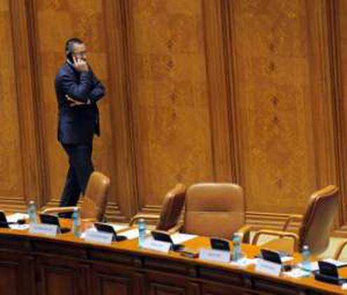 ponta in parlament