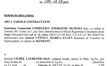 Document. Consiliul de Supraveghere îl menține ILEGAL pe Ciurel la conducerea CEO