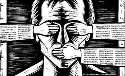 Niciun rând, în ziarele libere, despre a cincea zi de grevă a foamei!