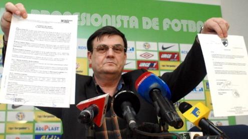 Marin Condescu: ''Ciurel ocupă ilegal funcția de manager''