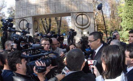 Ponta, iresponsabil și în privința Porții Sărutului