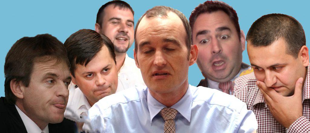 Am scăpat de dracu și-am dat de … noii zei: Romanescu, C. Popescu, Weber, Vîlceanu, Florescu și Văcaru
