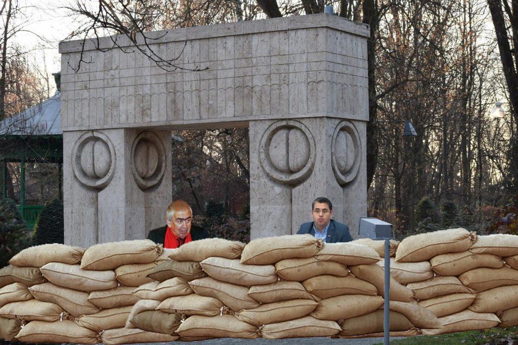 După ce a pitulat banii de canalizare, Cârciumaru vrea baraj din saci cu nisip la Poarta Sărutului