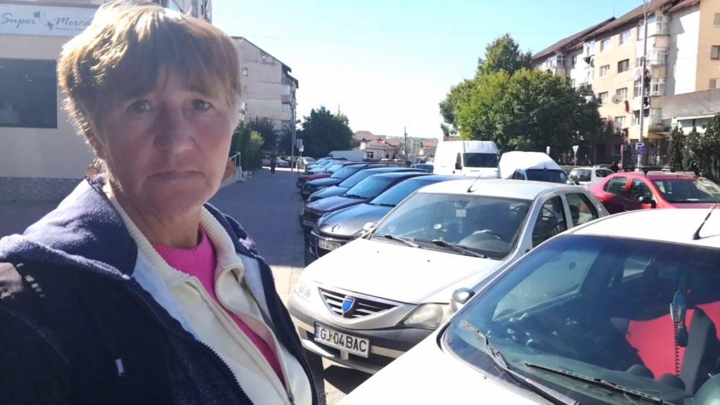 VIDEO: o taxatoare la un kilometru de parcare cu plată. Târgu Jiu, epoca de piatră a parcărilor cu plată