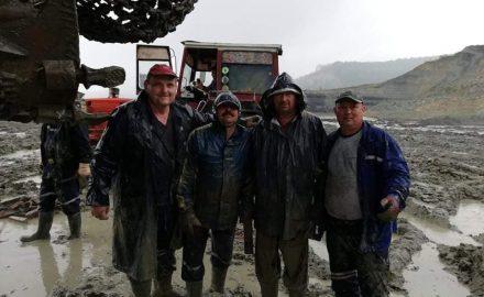 DE GROAZĂ. În ce condiții muncesc minerii, acum, în Cariera Tismana