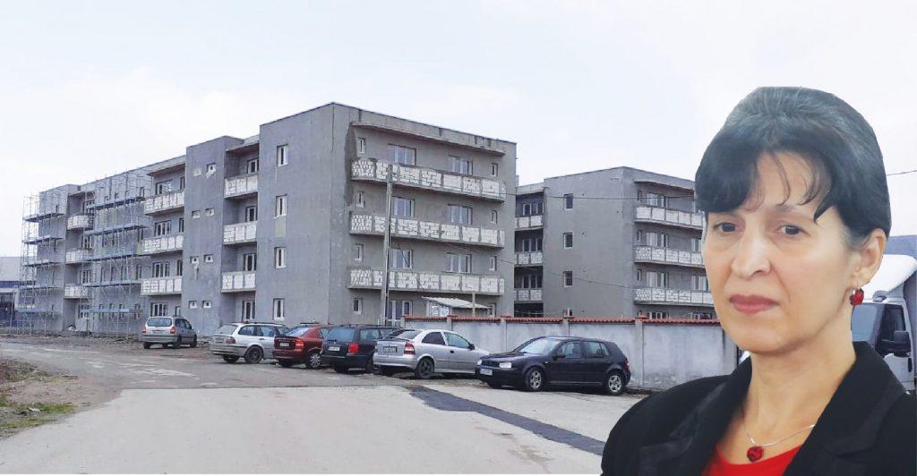 Complicitate PENALĂ! Blocul cu trei etaje, construit în zona industrială a Tg-Jiului, are ca fundament o serie de acte falsificate de șefa de la Urbanism, Ermina Pasăre!