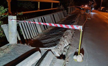Se alege praful! Încă un pod rupt, în Târgu Jiu. Nicio reacție din partea Primăriei