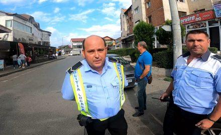 VIDEO: Poliția Locală Târgu Jiu, la pândă, la Terasa Mozart